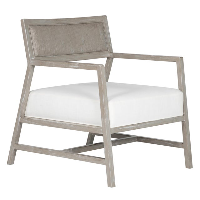 David Francis Furniture - Metro Lounge Chair, Greystone For Sale - Image 10 of 10