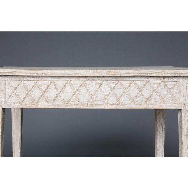 19th Century Swedish Painted Table - Image 5 of 8