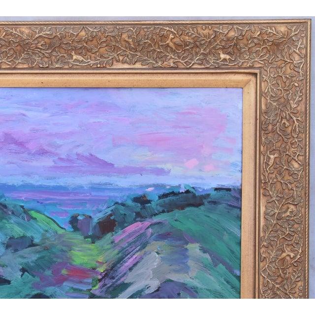 Juan Guzman, Santa Barbara Landscape Seascape Oil Painting For Sale - Image 4 of 10
