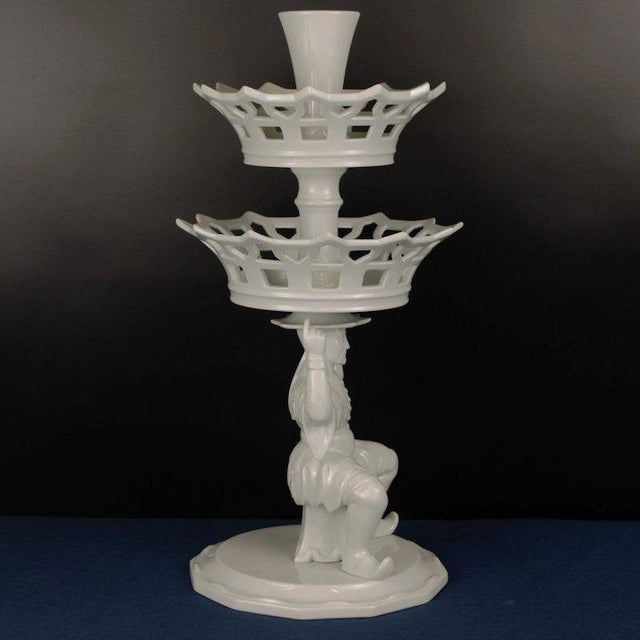1990s Mottahedeh Asian Epergne For Sale - Image 5 of 9
