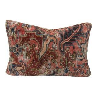 Turkish Decorative Caucasian Antique Kilim Pillow Cover For Sale