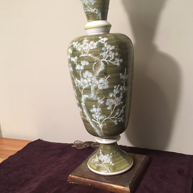 1960s 1960s Mid-Century Chinoiserie Chilo Lamp For Sale - Image 5 of 8