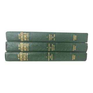 Vintage New Wonder World Encyclopedia - Set of 3