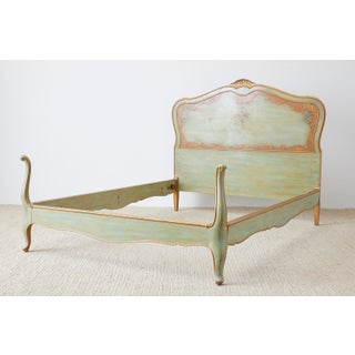 Early 20th Century French Louis XV Style Lacquered Bed Preview
