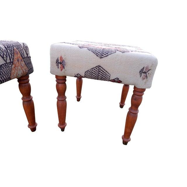 Kilim rug ottoman bench - Fresh Vintage NC |Kilim Ottoman Bench