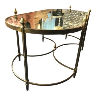 1900s Contemporary Mirrored Coffee Table For Sale