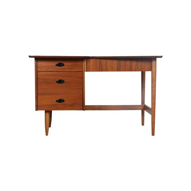 Hooker Mid-Century Walnut & Veneer Desk - Image 1 of 11