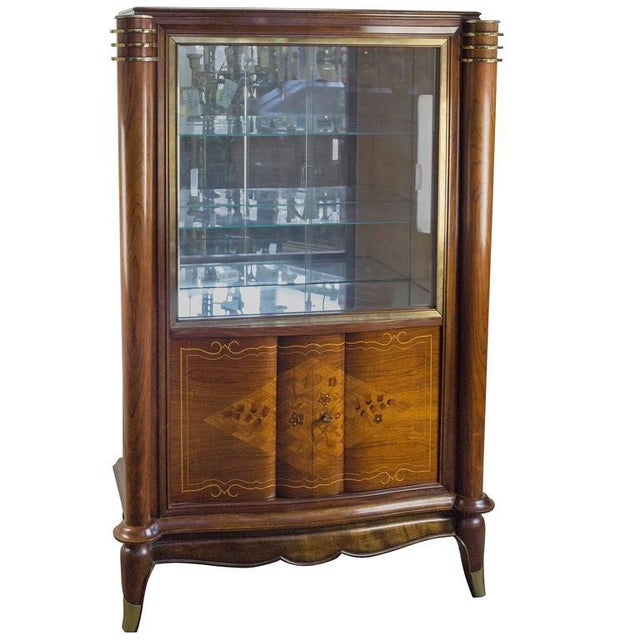 French Silver Cabinet in the Style of Leleu - Image 11 of 11