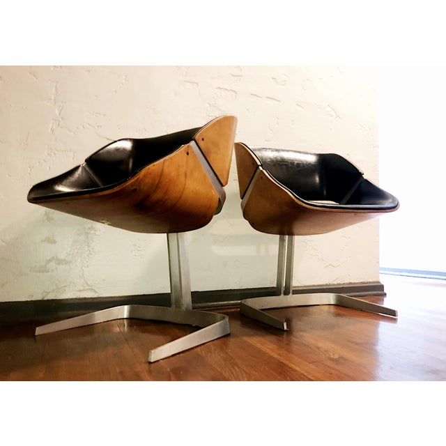 1964 Plycraft Office Chairs - A Pair For Sale - Image 10 of 12