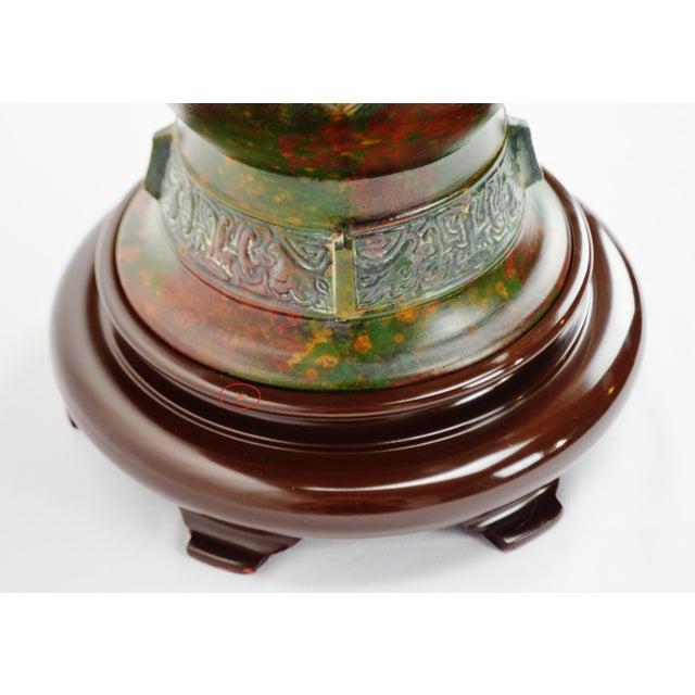 Marbro Mid-Century Egyptian Design Table Lamp - Image 10 of 11