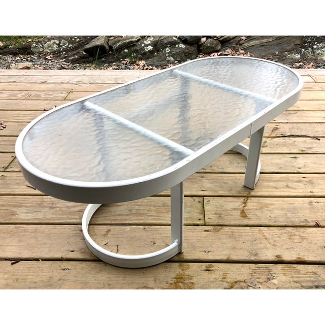 Contemporary Modern Winston Patio Coffee Table For Sale - Image 3 of 10