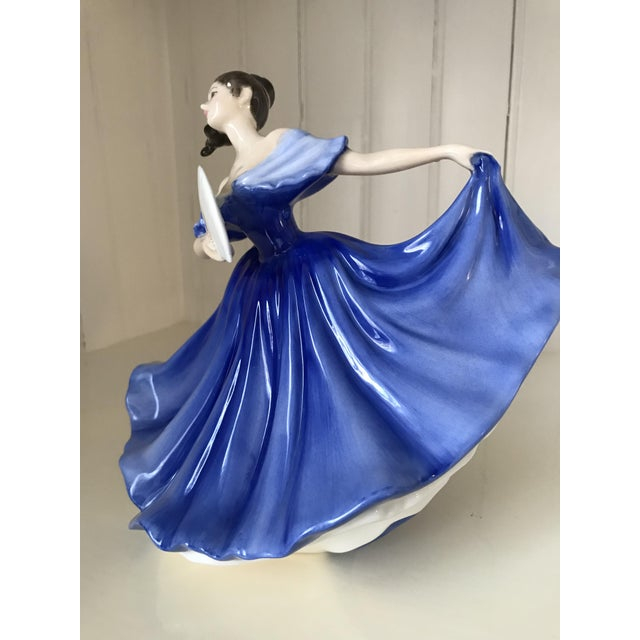 "Royal Doulton ""Elaine"" Figurine For Sale In Portland, ME - Image 6 of 8"