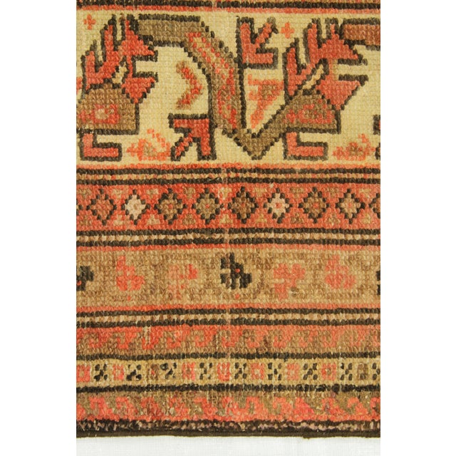 Orange 1920s Vintage Persian Malayer Rug - 10′3″ × 13′6″ For Sale - Image 8 of 10