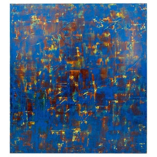 Large Orlanda Brugnola (1946 - 2016) Abstract on Canvas For Sale