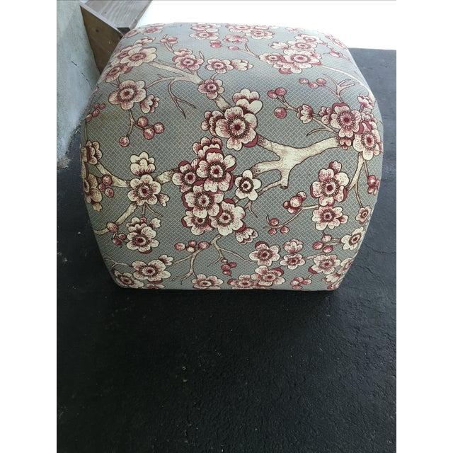 Vintage Waterfall Ottoman - Image 4 of 6
