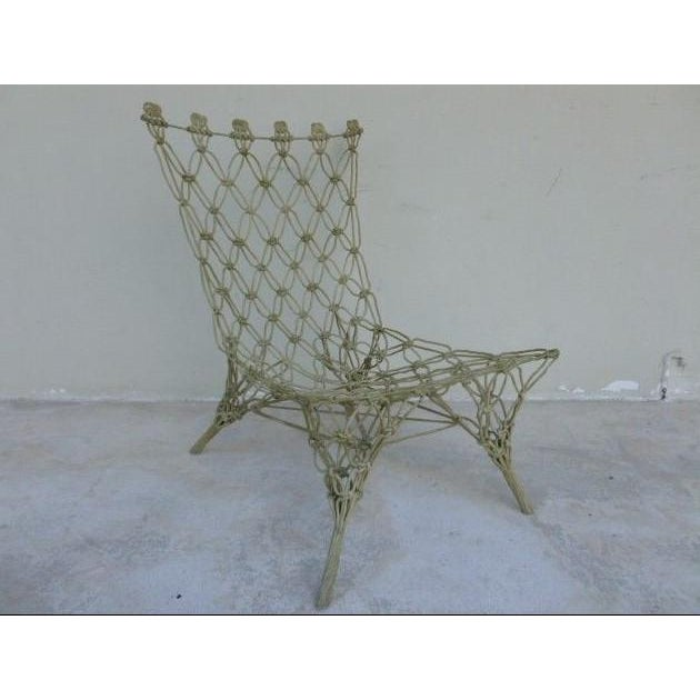 Modern 1990s Vintage Marcel Wanders for Droog Design Knotted Chair For Sale - Image 3 of 13