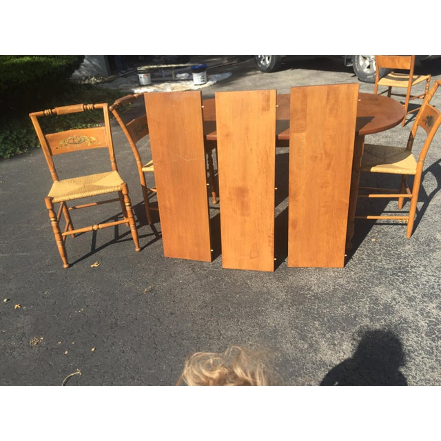 Vintage Heywood-Wakefield Dining Set For Sale - Image 6 of 11