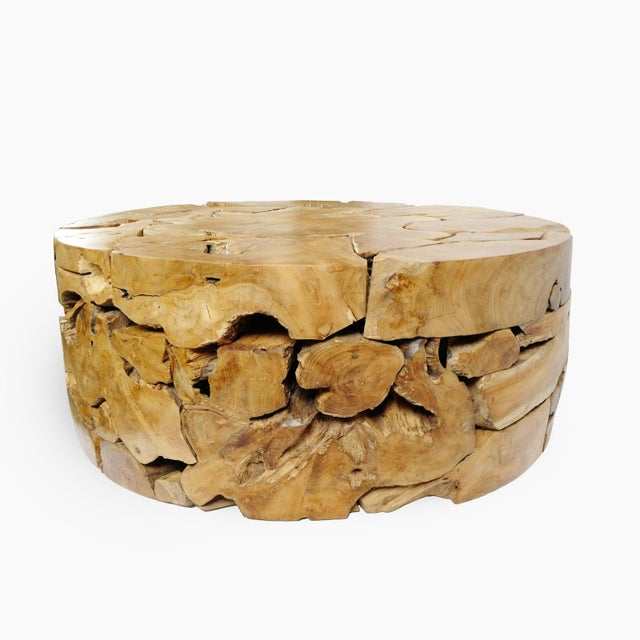 Teak Root Coffee Table | Chairish