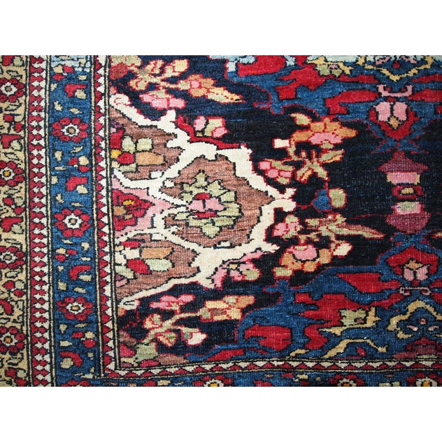 Antique Persian Isfahan Rug - 4′3″ × 6′ - Image 5 of 7
