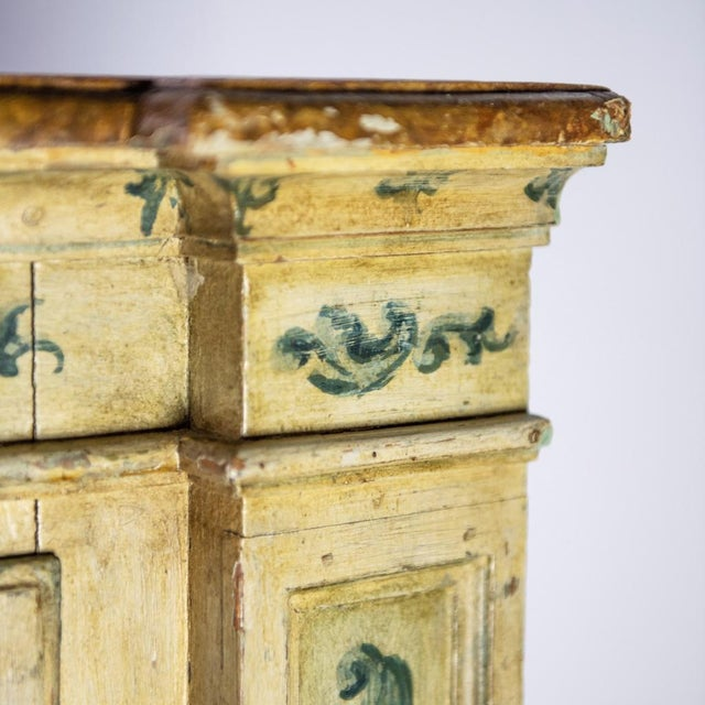 Antique Italian Corner Cupboard For Sale In New York - Image 6 of 7