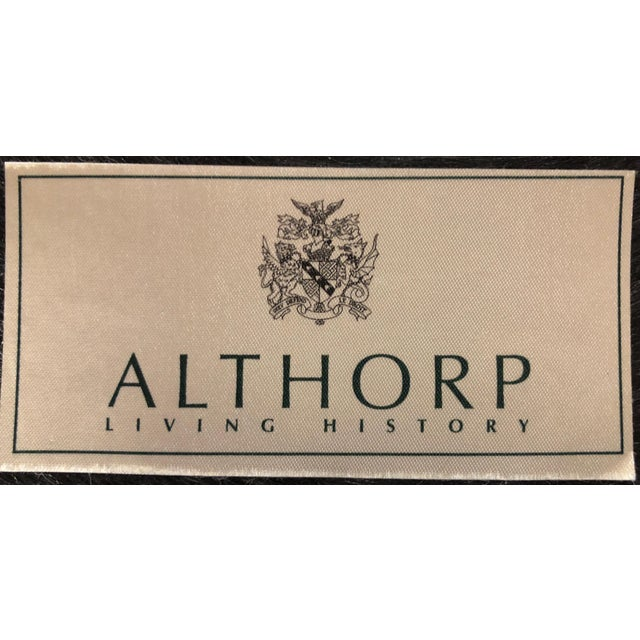 Theodore Alexander Althorp Living History Herringbone Slipper Chairs For Sale - Image 10 of 13