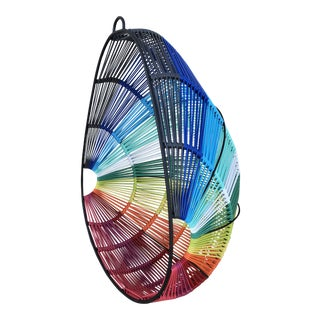 "Mexa Rainbow-Colored ""Cozumel"" Hanging Chair For Sale"