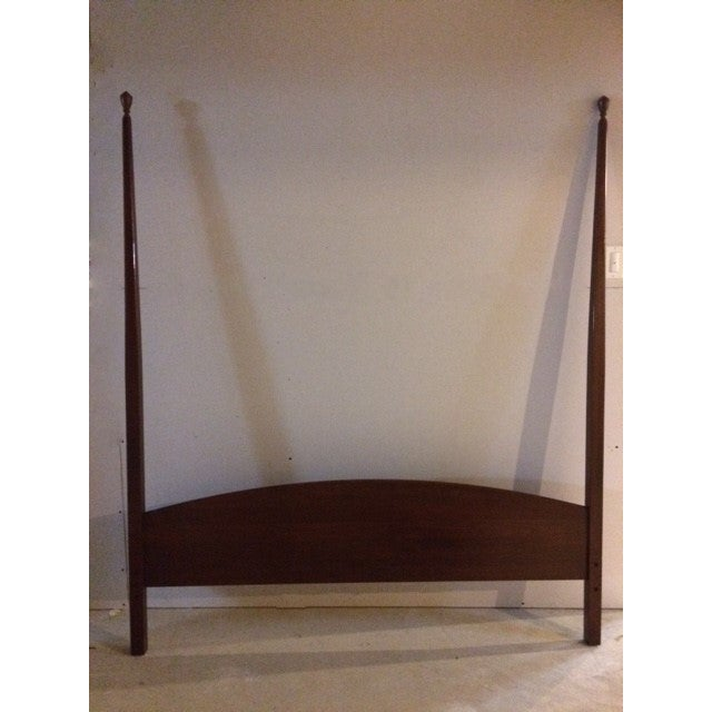 Shaker Solid Cherry Queen Poster Bed - Image 3 of 5