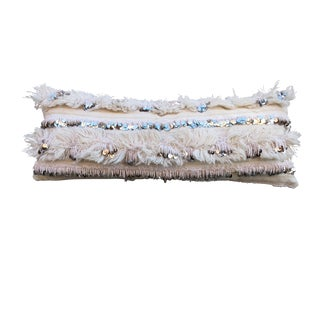 Moroccan Handira Wedding Blanket Body Pillow