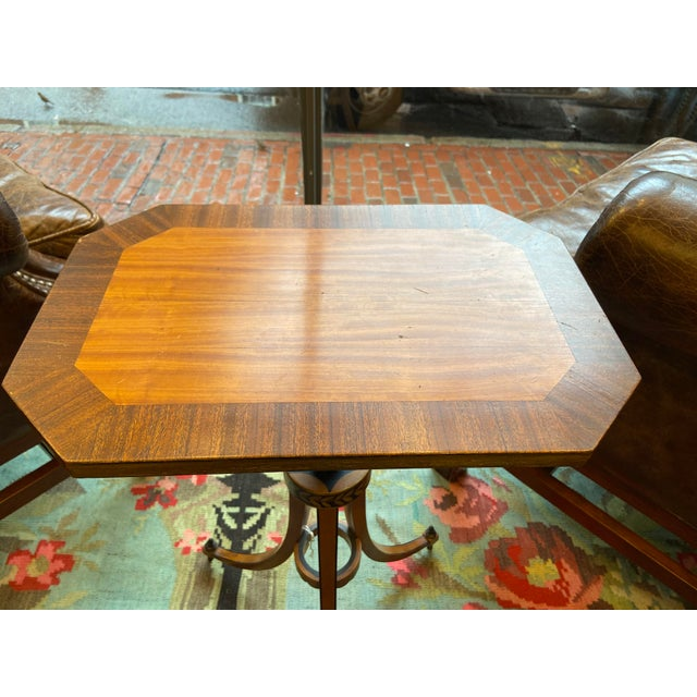 Late 19th Century 19th Century Federal Style Candlestand Table For Sale - Image 5 of 6