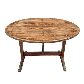 19th Century French Wine Tasting Table For Sale