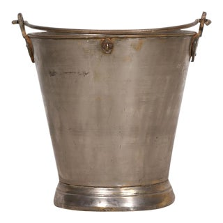 Vintage Aged Brass Bucket