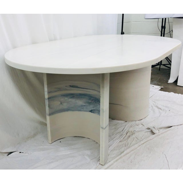 Vintage Contemporary Modern Table For Sale In Raleigh - Image 6 of 12