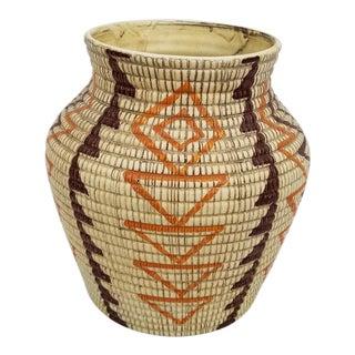 1970s Vintage Bellini Italian Ceramic Vase For Sale