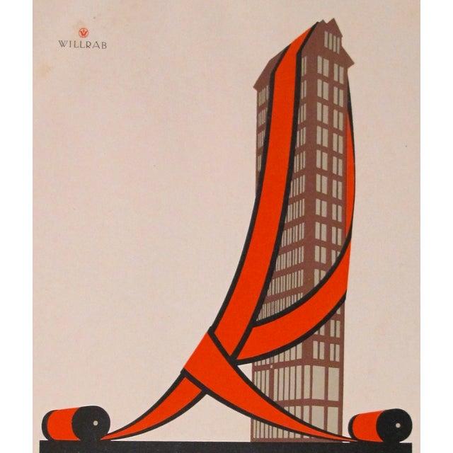 1923 German Design Poster, Repper Carpets - Image 3 of 3
