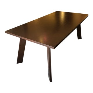 Modern Bulthaup Walnut Dining Table For Sale