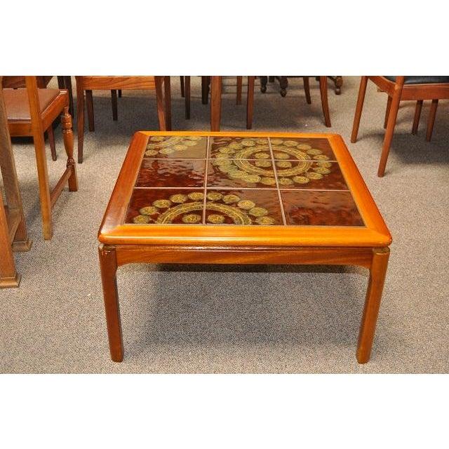 Teak & Tile Coffee Table C.1970 - Image 2 of 8