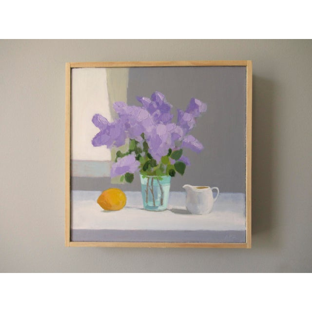 Anne Carrozza Remick Lilac, Lemon and Creamer by Anne Carrozza Remick For Sale - Image 4 of 6