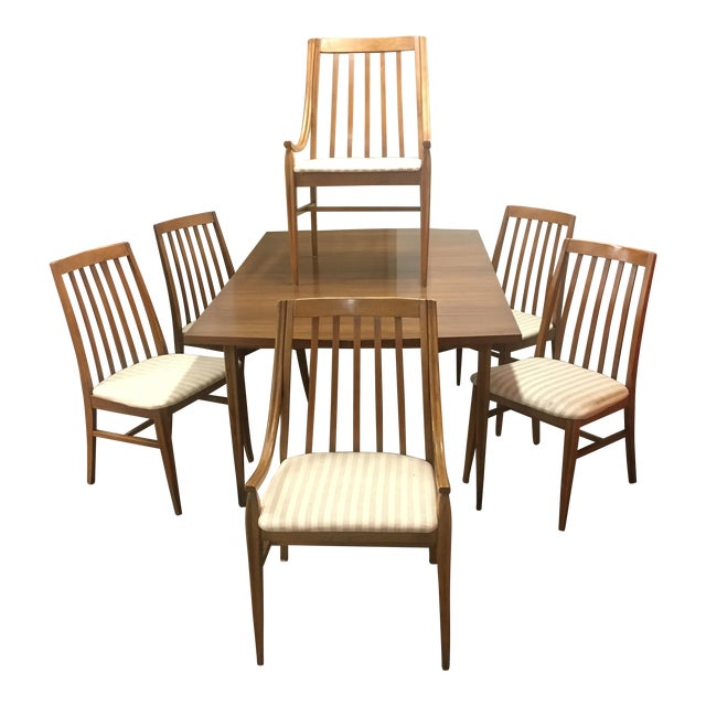 Mid-Century Dining Set by Hooker - Set of 7 - Image 1 of 11