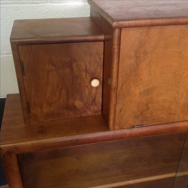 Art Deco Style Wooden Bar Cabinet - Image 6 of 11