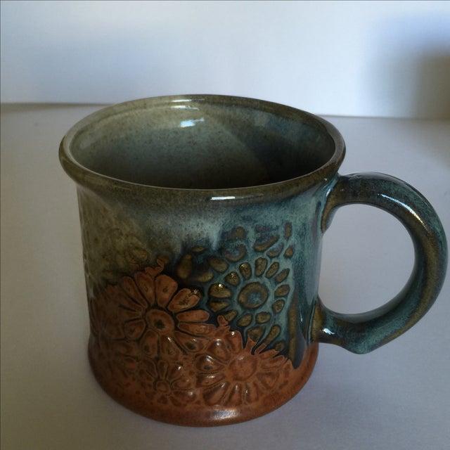 Vintage Pottery Mugs - Set of 5 - Image 4 of 11
