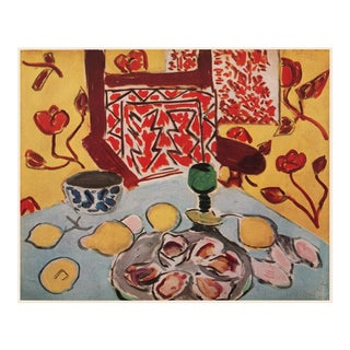 """1946 Henri Matisse """"Still Life on Blue Table"""", First Edition Parisian Lithograph For Sale"""