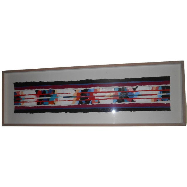Abstract Art Painting Signed - Image 2 of 6