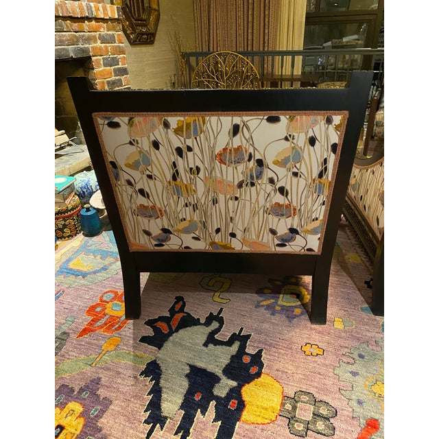 Indian 19th Century Mother of Pearl Inlay Chairs - a Pair For Sale - Image 3 of 12