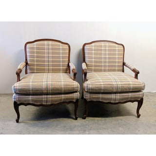 Sam Moore for Ethan Allen French Country Bergere Chairs - A Pair Preview