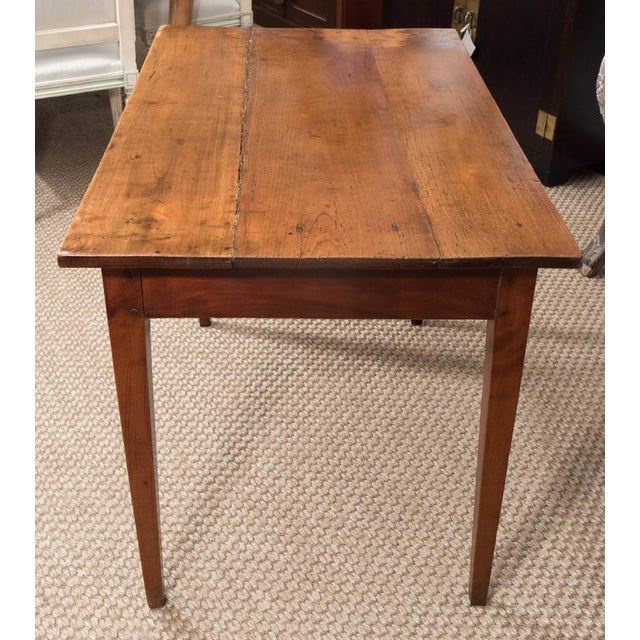 Wood Small French Table For Sale - Image 7 of 8