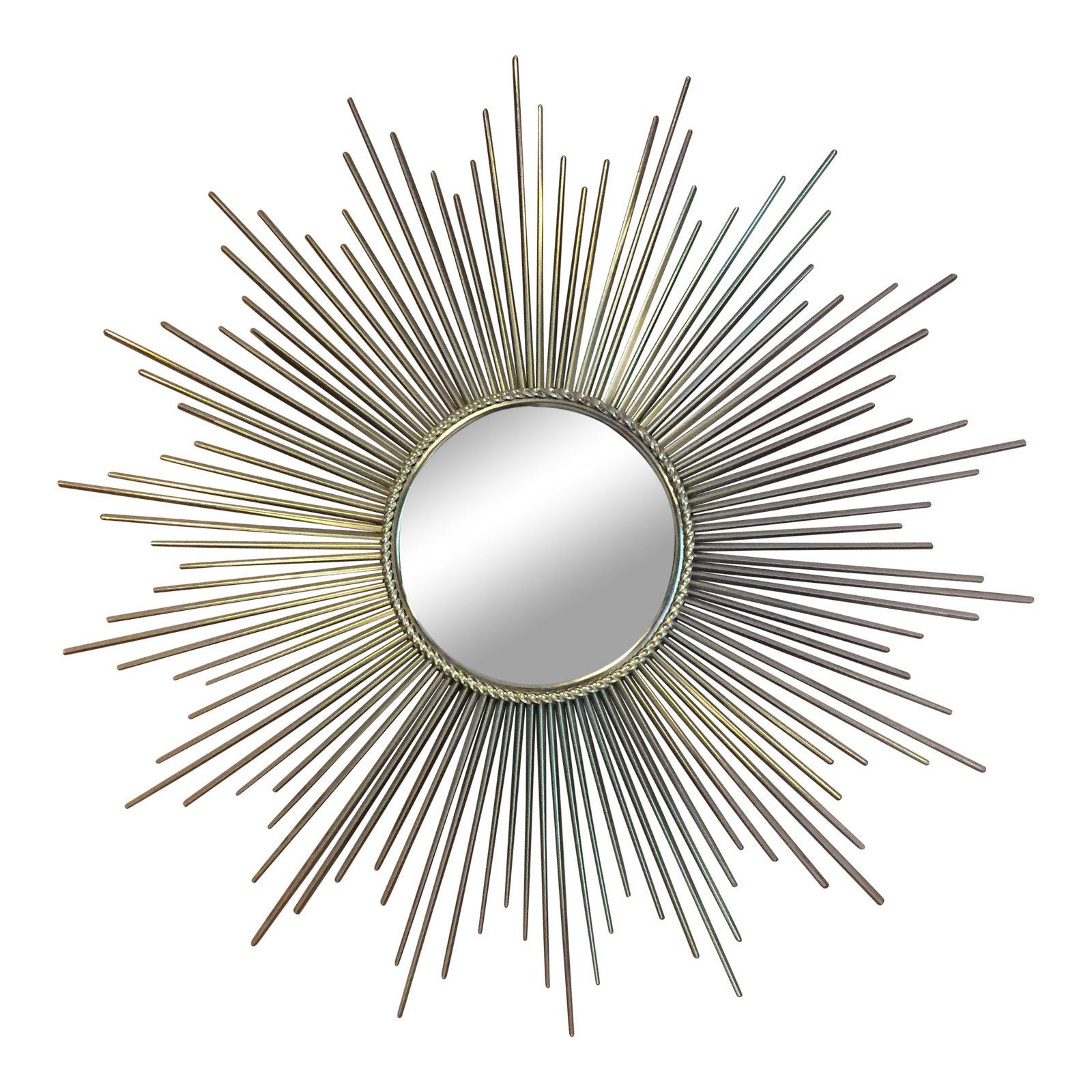Art Deco Sunburst Mirror | Chairish