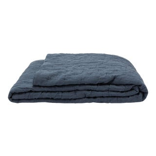 Once Milano Wavy Blanket in Stone Blue For Sale