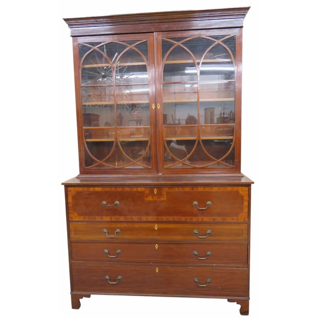Late 19th C. Georgian Secretary Desk - Image 1 of 5