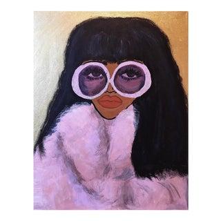 Donna Summer Glam Portrait