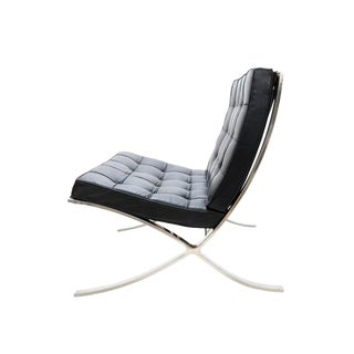 6 Available - 1950s Vintage Mies Van Der Rohe for Knoll Associates Barcelona Chair For Sale
